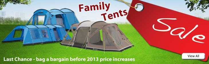 Large Cheap Family Tents from Outdoor World Direct, UK