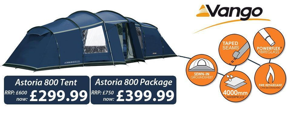 Includes tent, carpet, footprint and canopy